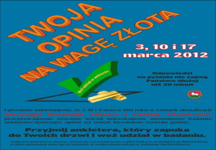 Ankieta Gminy Piaseczno
