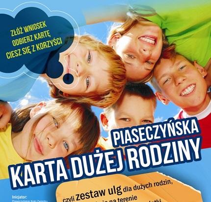 Karta Dużej Rodziny Piaseczno