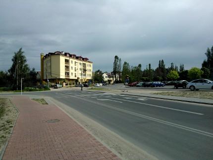 Skrzyżowanie ul. Cyraneczki / ul. Julianowska