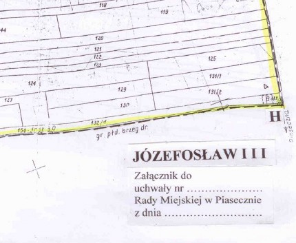 Miejscowy plan zagospodarowania przestrzennego Józefosław III