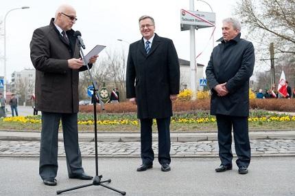Prezydent RP w Piasecznie