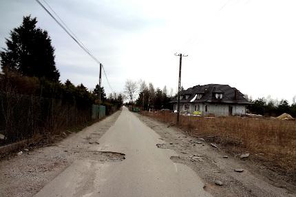 ul. Działkowa / Kierszek - 2015 r.