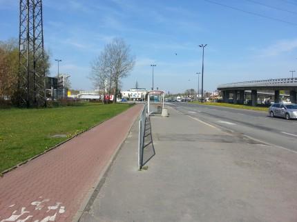 Ścieżka rowerowa na Ursynowie