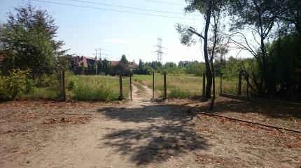Park w Józefosławiu przejście ul Pastelowa 2