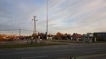 Puławska/Geodetów - miejsce przygotowane pod budowę BRW