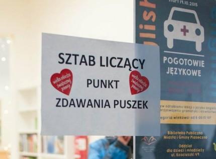 fot. Sztab WOŚP Piaseczno