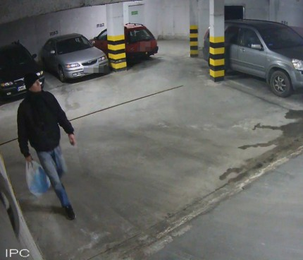 Fot. Garaż przy ul. Energetycznej - Policja Piaseczno
