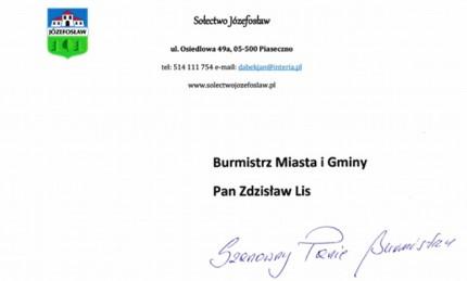 Fot. Sołectwo Józefosław