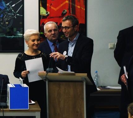 Zastępca Burmistrza Piaseczna - Robert Widz - fot. Gmina Piaseczno - Marek Borkowski