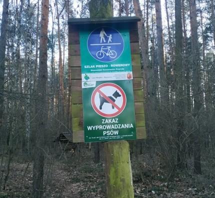 Las Kabacki zakaz wyprowadzania psów