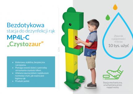 fot. Gmina Piaseczno - Czystozaur