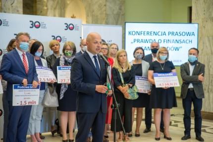Burmistrz Piaseczna Daniel Putkiewicz Fot: UM m.st. Warszawy