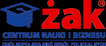 """Centrum Nauki i Biznesu """"ŻAK"""" w Piasecznie - logo.png"""