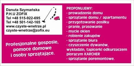 Danuta Szymańska P.H.U ZOFIX - zofix.jpg
