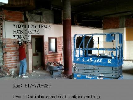 Wyburzenia rozbiurki ,domów ,domków letniskowych ,altan , Konstancin, Józefosław I okolice - WYBURZENIA 2.jpg