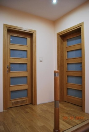 Drewniane drzwi zewnętrzne i wewnętrzne - 5583847314.jpg