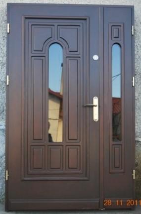 Drewniane drzwi zewnętrzne i wewnętrzne - 6472733826.jpg