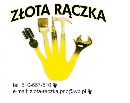 Złota Rączka, remonty, naprawy Malowanie - logo.JPG