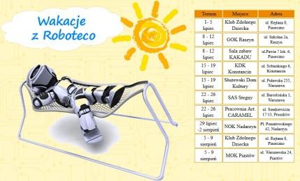 Wakacje z Roboteco - robotyka dla dzieci i młodzieży - wakacjetabela.jpg