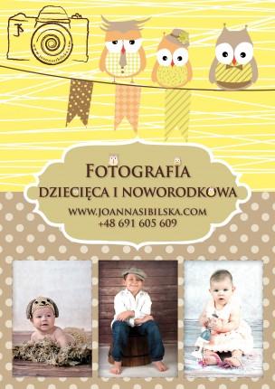 Fotografia noworodkowa, dziecięca i rodzinna - plakat.JPG
