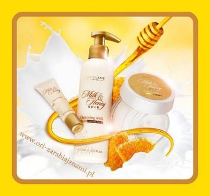 Zarabiaj z Oriflame - oriflame milk&honey.jpg