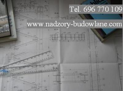 Kierownik budowy Piaseczno, Józefosław, Inspektor nadzoru, Przeglądy budynków, Inwentaryzacje budowlane - Ogloszenie_mail_telefon_bialy.jpg