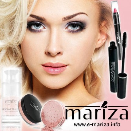 Pracuj z Marizą dodatkowo lub na stałe - mariza kosmetyki do makijazu.jpg