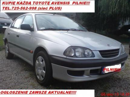 Kupię Toyotę Avensis I lub II pilnie stan obojętny! tel/sms 725 562 998 (sieć Plus) - AVENSIS sKUP zAWSZE AKTUALNE.jpg