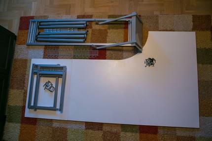 BIURKO IKEA GALANT narożne białe z dostawką i dodatkami - IMG_2841a.jpg
