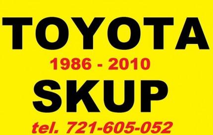 Kupie Toyota Corolla Avensis Carina - Skup Toyot 721-605-052 - 1.jpg