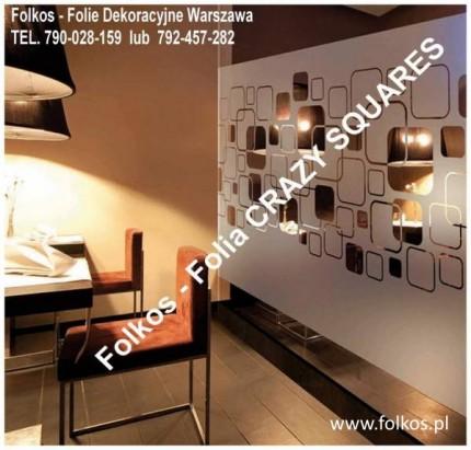 Folie okienne Józefosław -OKlejanie szyb Folkos Folie  - Folkos Creazy Scuares 152.jpg