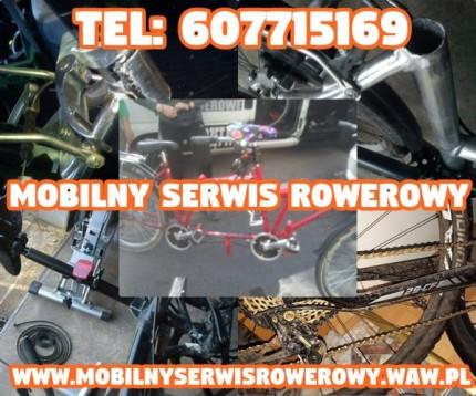 Mobilny Serwis Rowerowy Warszawa , Mazowieckie / Naprawiamy wszystkie typy rowerów - mobilnyserwisrowerowy.jpg