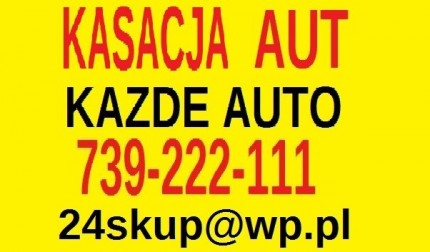 Auto Kasacja Aut Auto Złomowanie Pojazdów Warszawa - KASACJA AUT.jpg